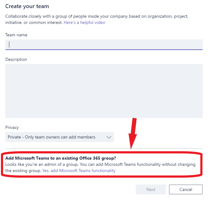 O365 Tip: Convert an Office 365 Group to a Team | It's